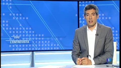"""L' Entrevista de l'Informatiu Cap de Setmana: Oriol Bartomeus, professor de Ciència Política que publica """"El Terratremol Silenciós"""". - 14/07/2018"""