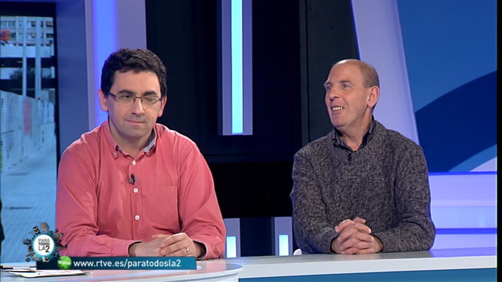 Para todos La 2 - Entrevista a Manel Garcés y a Ferran Busquets, director de la Fundación Arrels