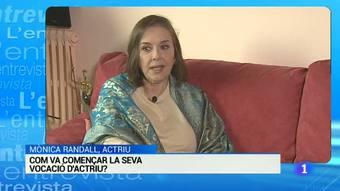 Entrevista a Mònica Randall, premi especial a la trajectòria del  59 edició Premis Sant Jordi de Cinematografía