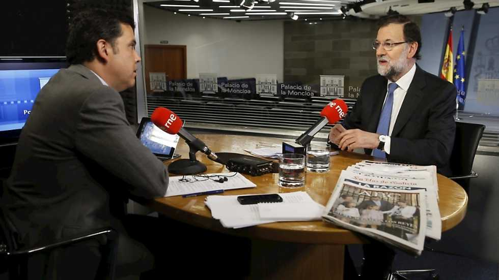 Especial Informativo - Entrevista al Presidente del Gobierno, Mariano Rajoy