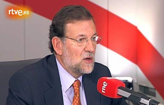 Entrevista a Mariano Rajoy en Radio Nacional