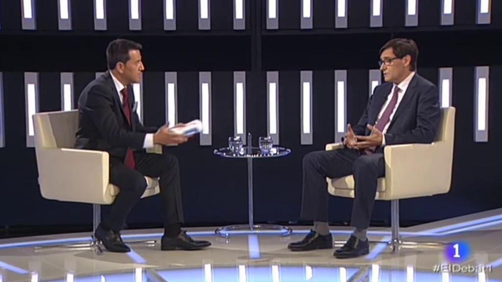 El Debat de La 1 - Entrevista Salvador Illa, secretari d'organització del PSC