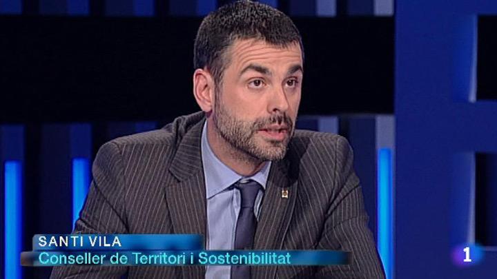 El Debat de La 1 - Entrevista a Santi Vila, conseller de Territori