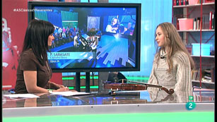 La Aventura del Saber. TVE. Entrevista a  Sara Valencia