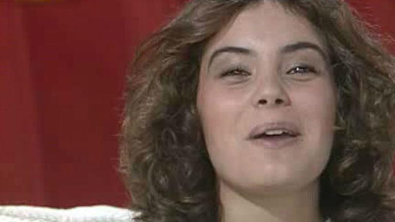 Sonia Martínez en 'La tarde' (1984)