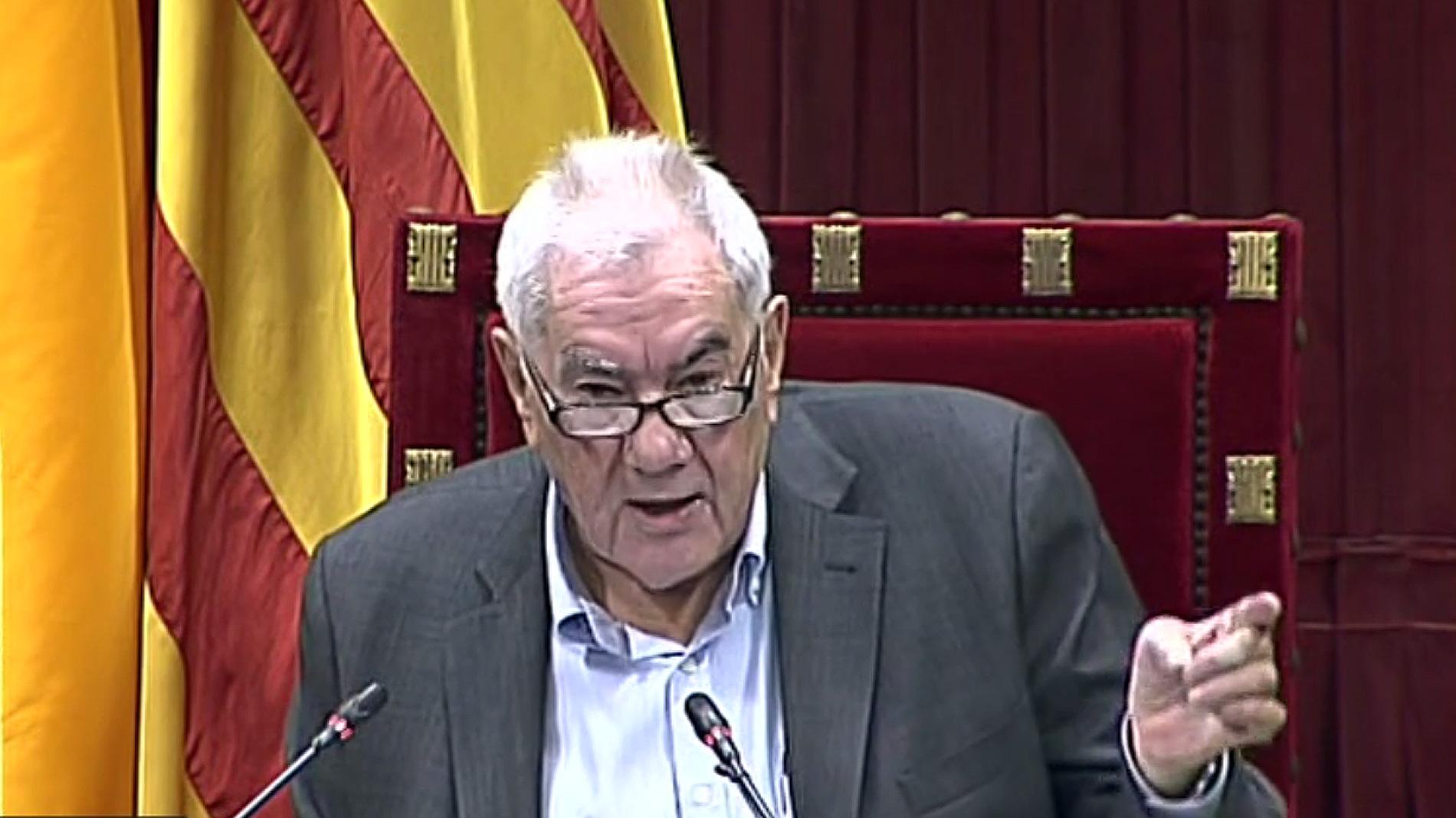 """Ernest Maragall insta a no abandonar """"un proyecto para todos los catalanes"""" y recuerda a los independentistas presos"""