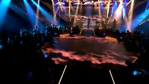"""OT 2018 - Eros Ramazzotti canta """"Hay vida"""" en la gala 7"""