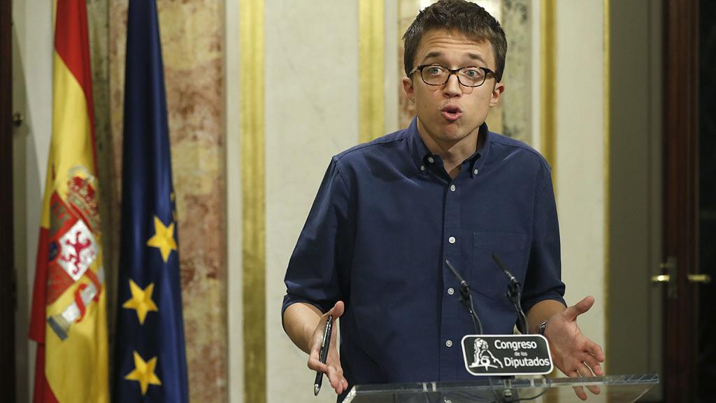 """Errejón: """"Rajoy ha intentado una rendición por aburrimiento y por agotamiento"""""""