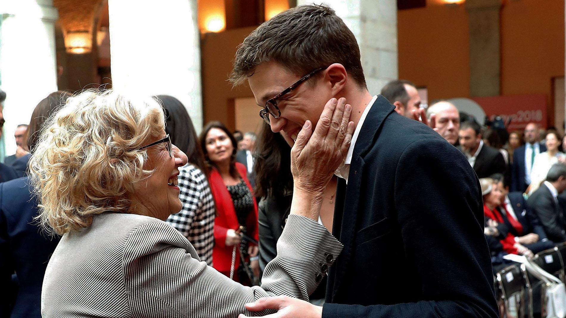 Errejón se alía con Carmena y concurrirá a las autómicas con Mas Madrid en lugar de Podemos