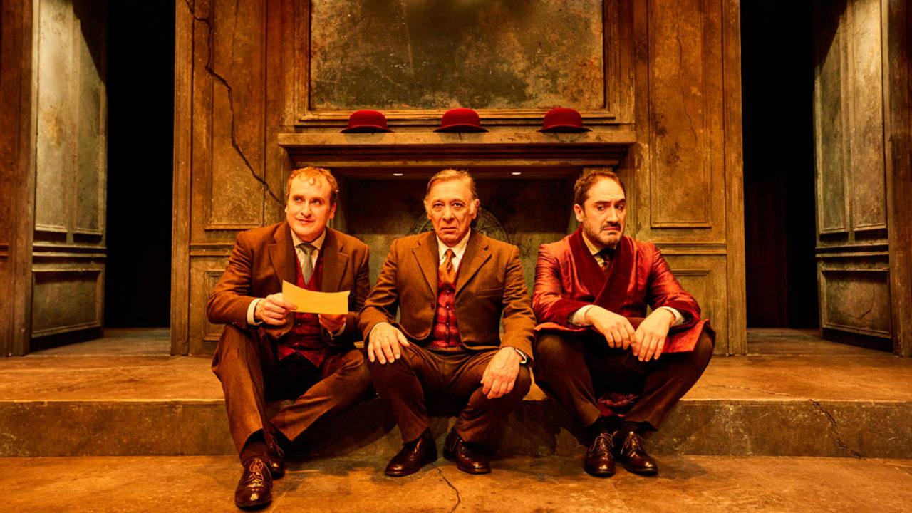 Una escena de 'Páncreas' en el Teatro Valle-Inclán de Madrid