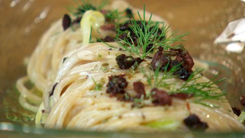Torres en la cocina - Espaguetis con salmón
