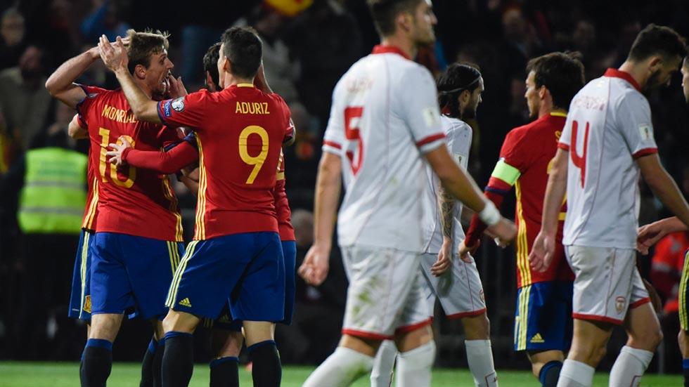 España 4 - 0 Macedonia