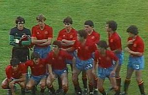 Semifinal de España en la Eurocopa  de Francia (1984)