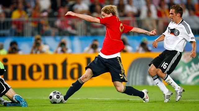 España gana la Eurocopa 2008 con gol de Torres