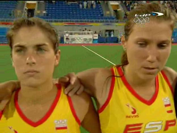 Hockey femenino. España - Holanda