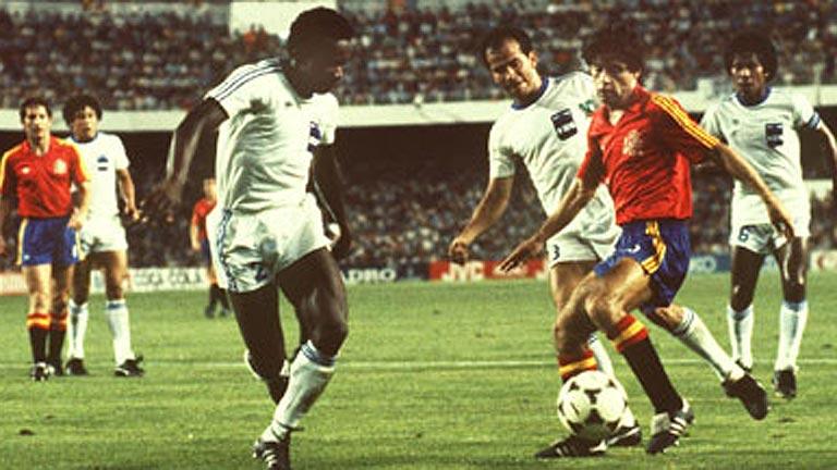 El España - Honduras del Mundial 82