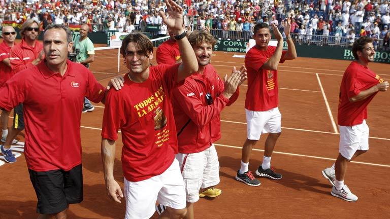 España jugará contra la República Checa la final de la Copa Davis 2012