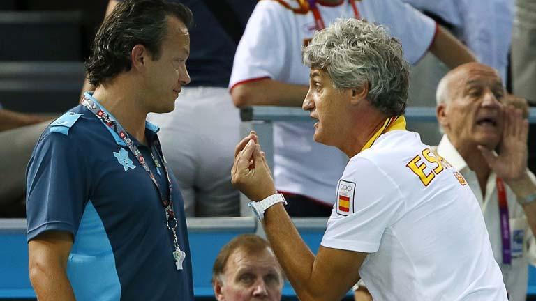 España pierde contra Croacia en waterpolo con polémica