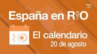 España en Río: 20 de agosto