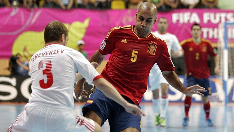 España se medirá a Italia en las semifinales del Mundial de fútbol sala