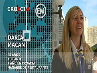 Ver vídeo 'Españoles en el mundo - Croacia - Daria'
