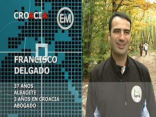 Ver vídeo 'Españoles en el mundo - Croacia - Francisco'