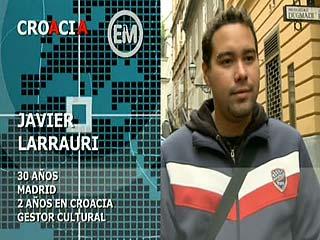 Ver vídeo 'Españoles en el mundo - Croacia - Javier'