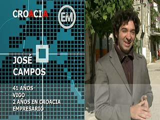 Ver vídeo 'Españoles en el mundo - Croacia - José'