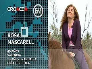 Ver vídeo 'Españoles en el mundo - Croacia - Rosa'