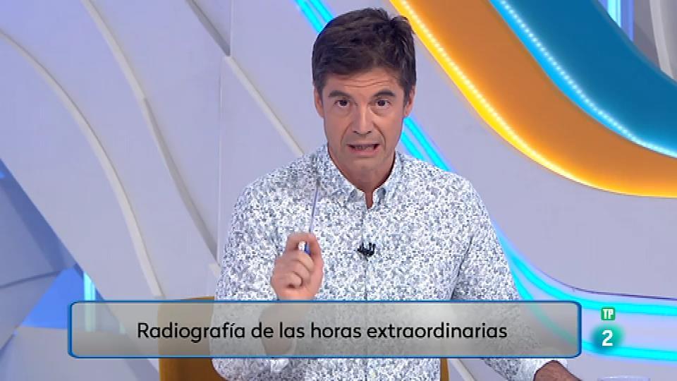 Los españoles no cobramos 2,5 millones de horas cada semana