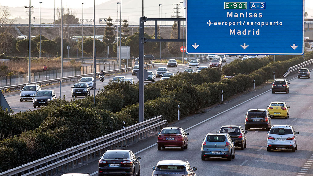 Los españoles quieren más controles policiales para reducir accidentes