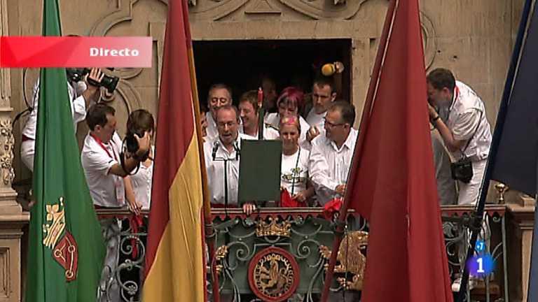Especial Chupinazo San Fermín 2012