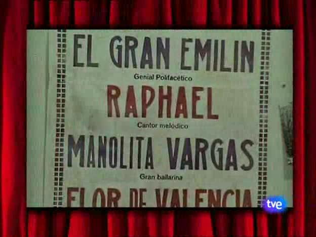 Especial Raphael- 50 años después