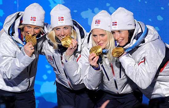 Esquí relevos femenino