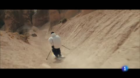 El esquí sin nieve es posible para Candide Thovex