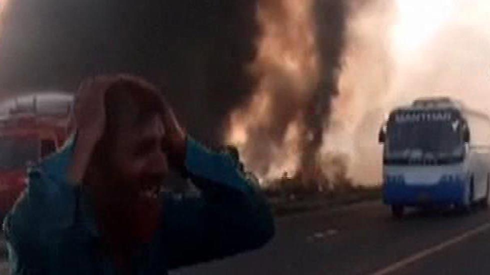 Mueren al menos 120 personas en Pakistán en el incendio de un camión cisterna