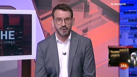 """""""Estamos cientos de personas encerrados en el Parlamento Europeo"""""""