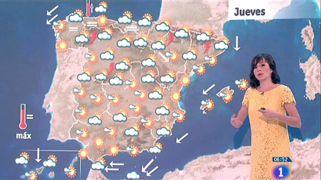 Este jueves habrá lluvias fuertes en Melilla y ascenso de las temperaturas en tercio norte