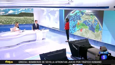 Este lunes, habrá lluvia intensa en Cataluña y zonas de Aragón