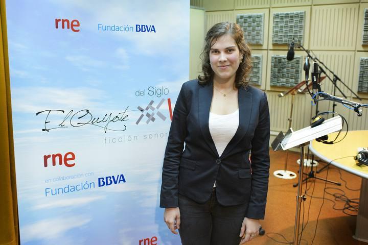 La actriz Esther Lázaro.