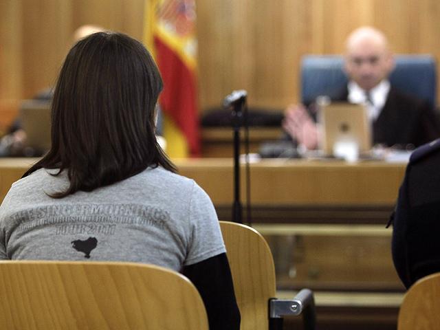 "Idoia Mendizabal: ""Soy militante de ETA y estoy orgullosa de serlo"""