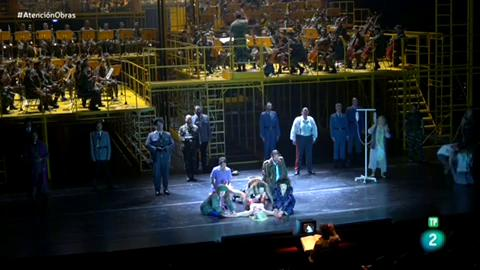 """Atención obras - Estreno de """"Die Soldaten"""" en el Teatro Real"""