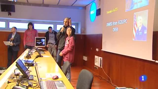 La Universidad Politécnica de Cataluña contacta con la Estación Espacial Internacional