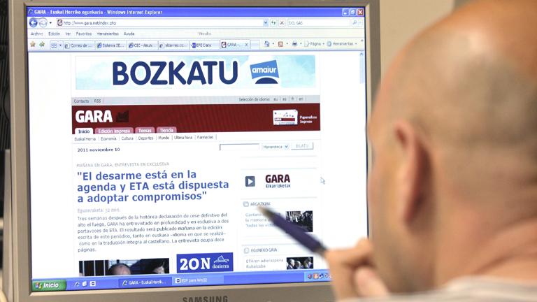 ETA pone condiciones para un eventual desarme