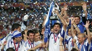 Eurocopa 2004: Grecia 1-0 Portugal, los modestos triunfan