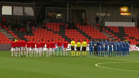 Fútbol - Clasificación Eurocopa Sub-21 10ª jornada: Islandia - España