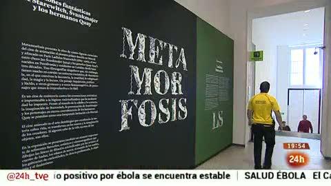 Europa 2014 - Reportaje - Exposición Metamorfosis - 10/10/2014