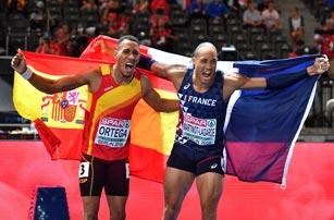 European Championships: Orlando Ortega se baña en bronce en los 110 metros vallas