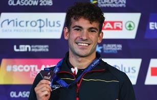 European Championships: Pons se lleva el bronce en los 400 estilos