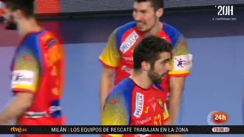 """Europeo de balonmano 2018. Los 'Hispanos', preparados para la """"guera"""" contra Francia"""